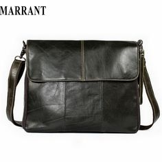 MARRANT Genuine Leather bag Men Bags Messenger casual Men's travel bag leather clutch crossbody bags shoulder Handbags 2017 NEW ** This is an AliExpress affiliate pin. Click the VISIT button to enter the AliExpress website Bags Travel, Mens Travel Bag, Leather Briefcase, Leather Crossbody, Men's Briefcase, Crossbody Bags, Crossbody Shoulder Bag, Shoulder Handbags, Cuir Vintage