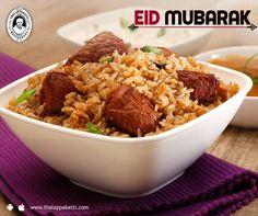 Celebrate this Eid with a tasty Biriyani at THALAPPAKATTI RESTAURANT  We wish everyone a Happy Eid...   #DindigulThalappakatti #Thalappkatti #ThalappakattiRestaurant #Food #Foodie #Biriyani #Eid #EidMubarak