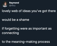 Marketplace Of Ideas, Meant To Be, Connection