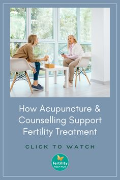 Watch our Fertility Help Hub video, as we discuss how acupuncture, counselling and hypnotherapy can be useful during ttc. #fertility #ivf #ttc #ttcjourney #wellbeing #treatment #infertility #acupuncture