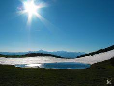 Desde Sel de la Fuente en el parque natural fuentes carrionas y fuente cobre en la montaña palentina.