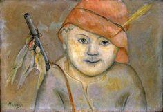 Little Hunter Tadeusz Makowski, Polish 1882-1932