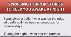 And this is why I don't do the night shift. #nurse #nursing #scary #horror #stories