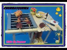 DIY - Churrasqueira para bonecas - Como fazer ?
