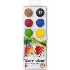 Ico süni - Nagygombos vízfesték készlet 12 darabos - Akvarell festék - Koh I…