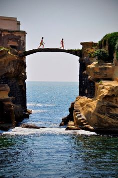 Island of Gaiola, Italy @halloffurs #HallLoves