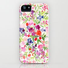 Field of Spring Flowers iPhone & iPod Case