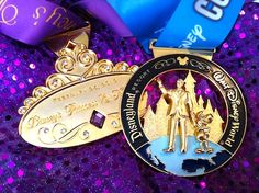 the princess half marathon was supposed to be my race. i prepped & trained for months, trading in my glass slippers for running shoes, in an effort to run a sub half marathon. Disneyland Half Marathon, Disney Princess Half Marathon, Disney Races, Run Disney, Half Marathon Training, Marathon Running, Running Medals, Running Gear, Running Inspiration