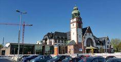 Bahnhof Bad Homburg, Germany - Train Station    -  Baroque Style architecture  OL