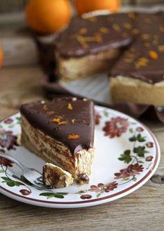 Cheesecake chocolate oranges