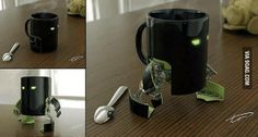 10/10 would buy. Transformers mug. I want one. I really want one!