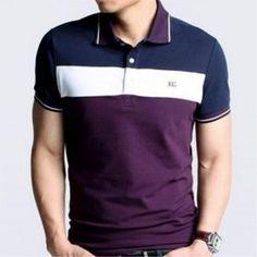 Polo Shirt Design, Polo Design, T Shirt Diy, My T Shirt, Boyfriend Girlfriend Shirts, Camisa Floral, One Direction Shirts, Cheer Shirts, Polo T Shirts