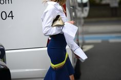 - Camille Charrière in London - More #streetstyle on www.thestreetmuse.it