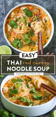 Easy Dinner Recipes, Easy Meals, Dinner Ideas, Recepies For Dinner, Soup Recipes With Chicken, Best Dinner Recipes Ever, Easy Thai Recipes, Freezer Meals, Breakfast Recipes