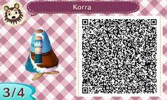 Korra's garb from Avatar: Legend of Korra