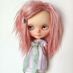 'Rosabel' OOAK Blythe doll by Sharon Avital