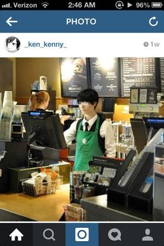 Meanwhile at Starbucks......