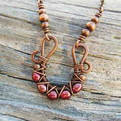 Pearls criss cross wire wrapped in antiqued copper necklace Freshwater Pearls criss cross wire wrapped in antiqued copper necklaceFreshwater Pearls criss cross wire wrapped in antiqued copper necklace Wire Wrapped Necklace, Copper Necklace, Wire Wrapped Pendant, Copper Jewelry, Wire Jewelry, Handmade Jewelry, Pearl Necklace, Copper Wire, Jewelry Rings
