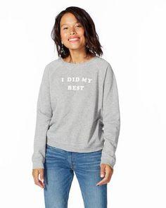 926f6cbedd shopthelook i did my best sweatshirt I Am Awesome