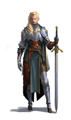 Dungeons And Dragons Characters, Dnd Characters, Fantasy Characters, Female Characters, Fantasy Armor, Medieval Fantasy, Dark Fantasy, Female Character Design, Character Design Inspiration