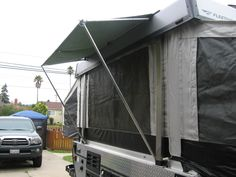 Rear Awning Great For Rainy Days To Leave The Window Unzipped