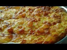 Σπιτική Τυρόπιτα-Κουρελόπιτα εύκολη, γρήγορη και πολύ νόστιμη! Serbian Recipes, Serbian Food, Chicken Recepies, Hawaiian Pizza, Lasagna, Food And Drink, Appetizers, Cooking Recipes, Vegetarian
