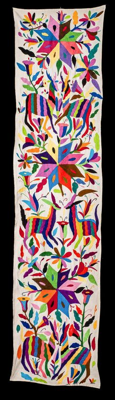 OTOMI HAND EMBROIDERED TEXTILE