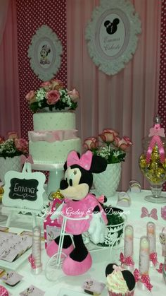 Party Minnie Mouse by Johanna Godoy Event Designer
