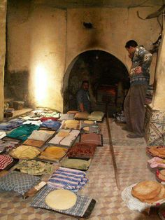 Morocco.....public traditional oven