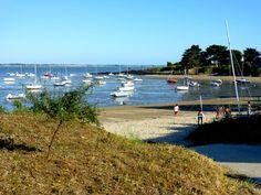 Début de soirée à #kervoyal #damgan #morbihan Brittany, Photos, France, River, Beach, Outdoor, Places, Recipes, Outdoors