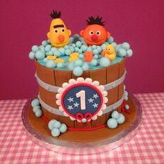 Bert & Ernie cake! Taart van Manja!