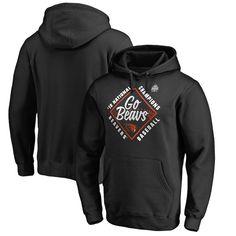 Oregon State Beavers Fanatics Branded 2018 NCAA Men's Baseball College World Series National Champions Hometown Pullover Hoodie – Black