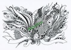 Adult coloring ZenZia \
