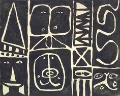 Pictograph, Adolph Gottlieb