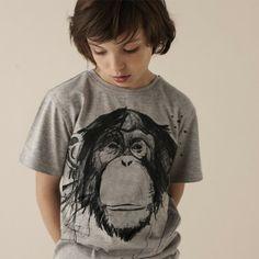 Stadtlandkind - T-Shirt Thea Ape