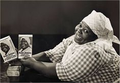 Nancy Green, the real Aunt Jemima.Nancy Green was born into slavery November 17, 1834. She became the Trademark for Aunt Jemima Pancake Mix in 1890.Aunt Jemima actually was a song before it became the name of a pancake mix. Nancy Green demonstrated the pancake mix and served thousands of pancakes. She was very friendly, a great story teller and a great cook.