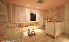 Quarto de bebê rosa - Mas um projeto feito pela Santos e Santos Arquitetura esse quarto de bebê rosa é lindo, lindo e lindo, uma decoração de surpreender.