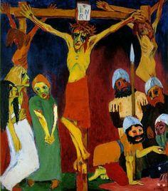 Nolde - Crucifixion - 1912