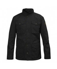 Mens Fjallraven Raven Black Jacket