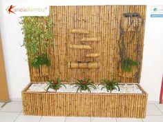 Bambus dekoracija na zidu, Bambus vodena fontana Bamboo House Design, Zen Garden Design, Bamboo Tree, Bamboo Fence, Bamboo Fountain, Rectangular Planters, Bamboo Architecture, Bamboo Crafts, Centerpiece Decorations