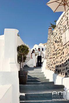 Ślub na Santorini i współpraca z agencją ślubną | Designerska agencja ślubna
