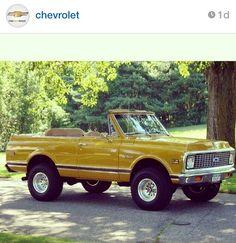 1972 K5 Chevy Blazer