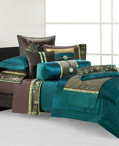 THIS IS IT! MY INSPIRATION FOR MY INDIAN/MOROCCAN BEDROOM!    Natori Bedding, Potala Palace Collection - Bedding Collections - Bed & Bath - Macy's