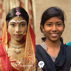 Same girl. Two completely different futures. Meet 14-year-old Mamoni from India. Extra educational support through Compassion has given Mamoni the opportunity to learn a vocation and help her avoid child marriage. Read how she overcame decades of tradition. #Education #childmarriage