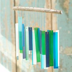 I want it!! sea glass and driftwood wind chime is available from Stonewall Kitchen and retails for $24.95. I can almost hear the delicate sound now!