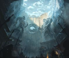 Temple of the Heavenly Crab by najtkriss on deviantART