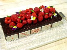 Raspberry Chocolate Tart by Pastry Chef Antonio Bachour (St. Regis Bal Harbour Resort)