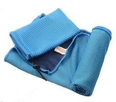 Interthing Cooling Towel for Sports Golf Beach Camping Fitness with Portable Bag Blue * You can get more details by clicking on the image. Amazon Affiliate Program's Ads.