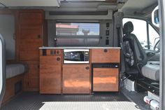Inside the all-new Sportsmobile Sprinter 4x4 at Overland Expo West 2015