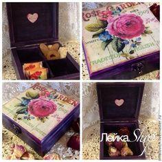 """Caixões feitos à mão.  Mestres Feira - handmade """"jardim de rosas"""".  Handmade."""